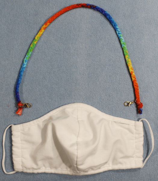 Somewhere over the rainbow Maskenband